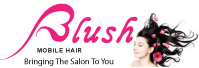 Link to blush mobile hairdressing in blandford and wimborne website